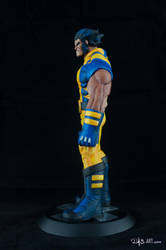 [Garage kit painting #05] Wolverine statue - 005 by DasArt