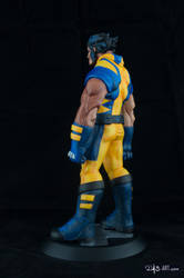[Garage kit painting #05] Wolverine statue - 007 by DasArt