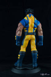 [Garage kit painting #05] Wolverine statue - 009 by DasArt