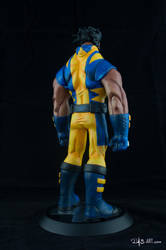 [Garage kit painting #05] Wolverine statue - 011 by DasArt