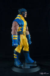 [Garage kit painting #05] Wolverine statue - 015 by DasArt