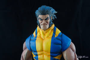 [Garage kit painting #05] Wolverine statue - 026 by DasArt
