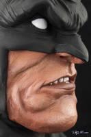 [Garage kit painting #08] Batman bust - 012 by DasArt