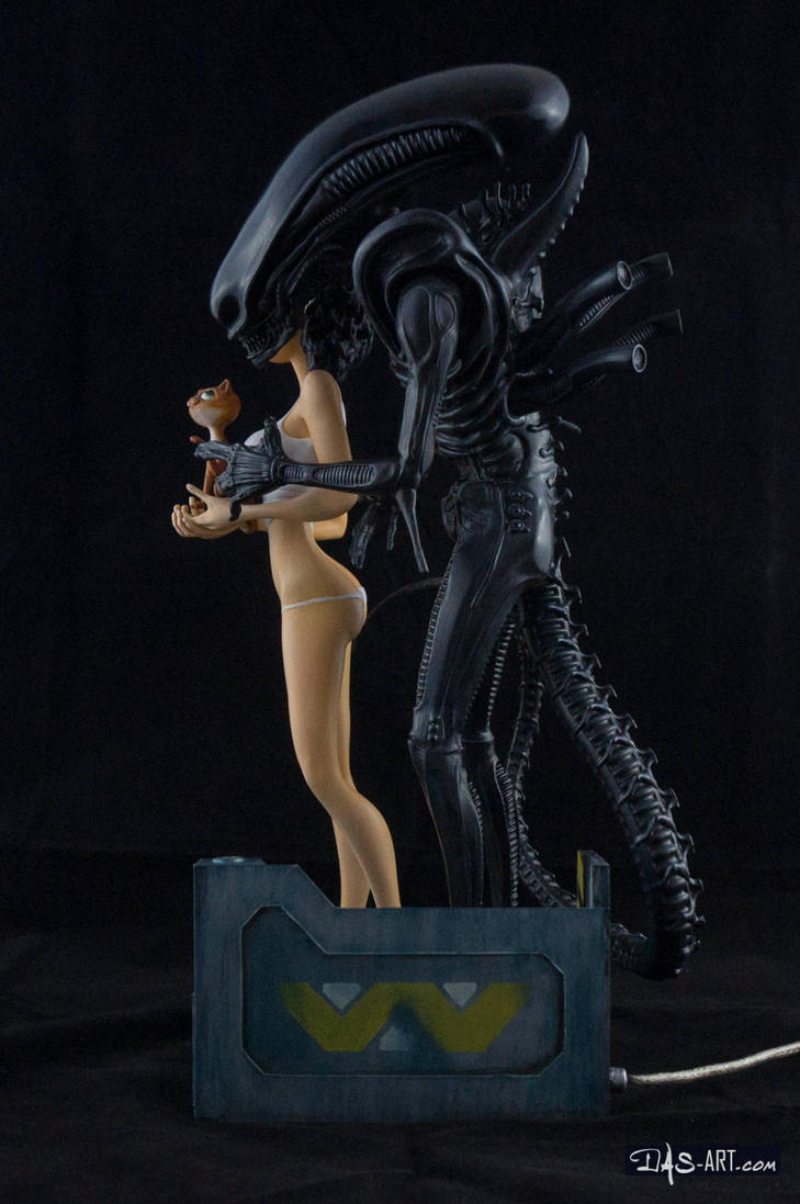 [Garage kit painting #13] Ripley and Friends - 003 by DasArt