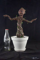 [Garage kit painting #14] Baby Groot statue - 015 by DasArt