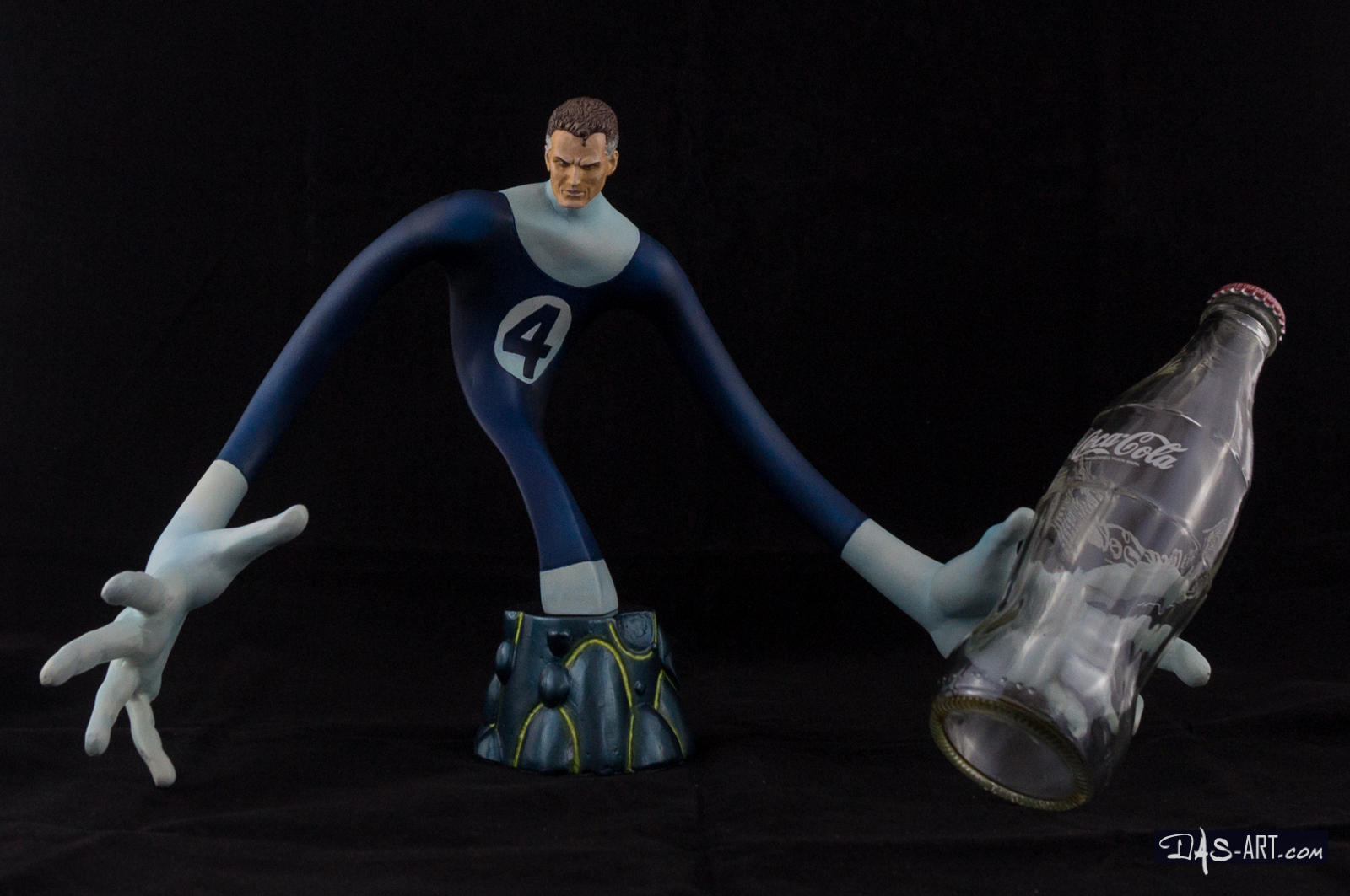 [Garage kit painting #17] Mr. Fantastic bust - 017 by DasArt