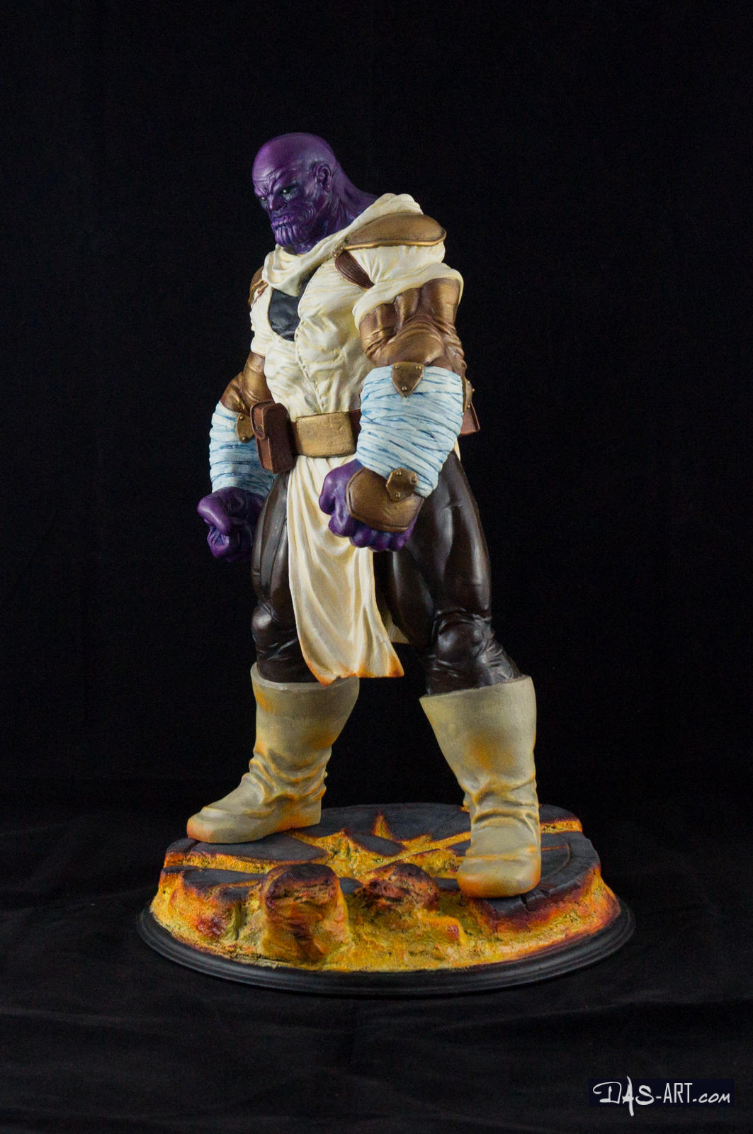 [GK painting #19] Thanos statue - 002 by DasArt