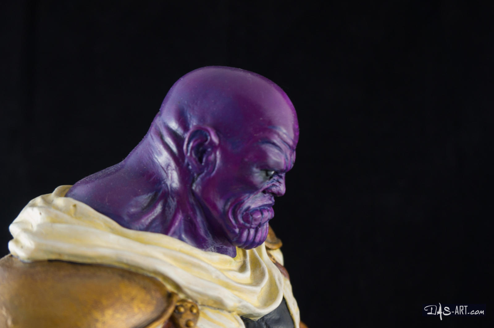 [GK painting #19] Thanos statue - 014 by DasArt