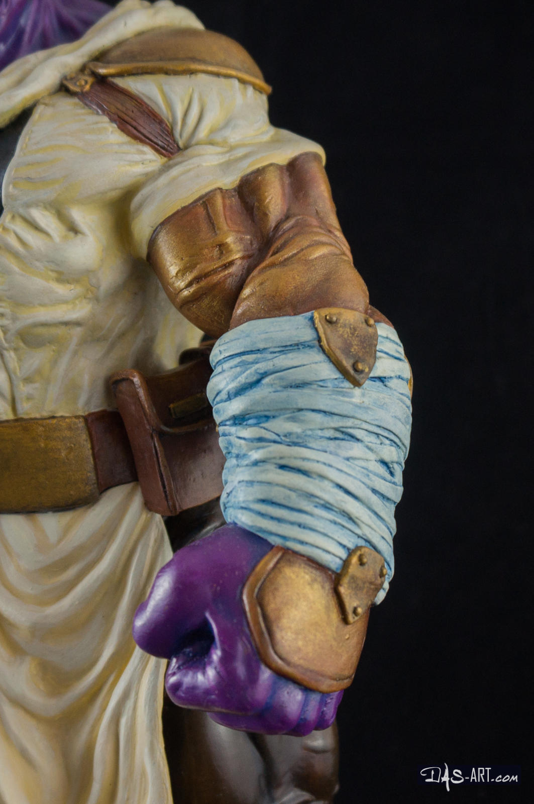 [GK painting #19] Thanos statue - 011 by DasArt