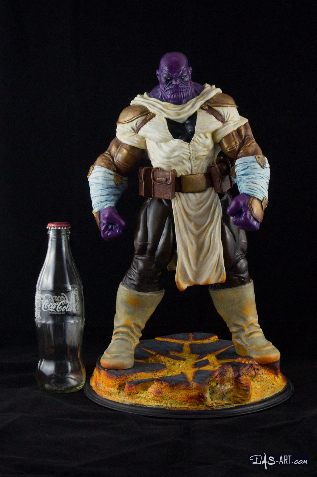 [GK painting #19] Thanos statue - 019 by DasArt
