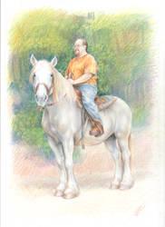Portrait of Richard Wilhite by LinzArcher
