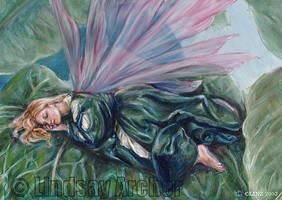Spring Slumber by LinzArcher