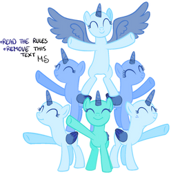 Mlp Base - I don't care!!! by MelodySweetheart