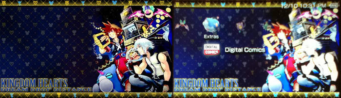 Kingdom Hearts 3D -PSP Theme- by Falchia