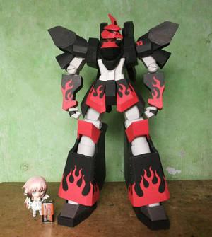 Papercraft Evil Megas Size Comparison by MarcGo26