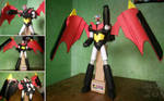 [SMGS Project] Paper Shin Mazinger Z: God Scrander by MarcGo26