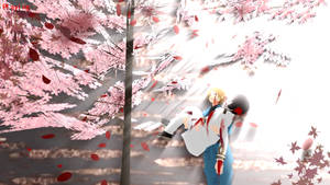 MMD HetaOni Wallpaper - Cherry Trees by Pianodream