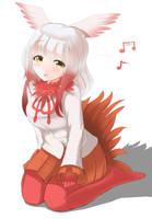 Kemono Friends: Toki by Redundant-Cat
