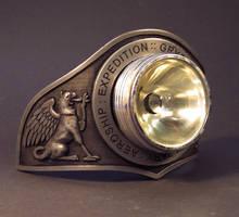 Helmet Plate Headlamp by TomBanwell