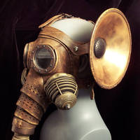 Elephantine Gas Mask by TomBanwell