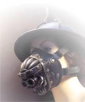Skull Respirator by TomBanwell