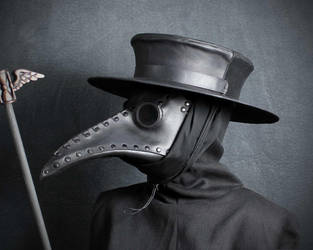 Plague Doctor hat by TomBanwell
