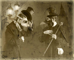 Gentlemen Plague Doctors by TomBanwell