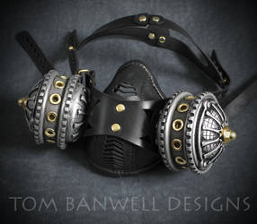 Infiltrator Steampunk Respirator by TomBanwell