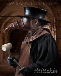 Plague Doctor with Mallet by TomBanwell