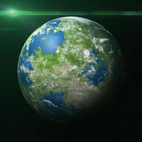 Pangean planet by MhsmDK