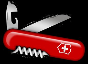 Swiss Army Knife by barkerbaggies