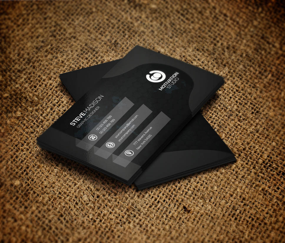 Creative Business card by oumaabde