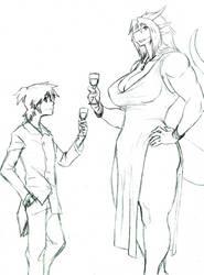 Taste of Fine Wine by Letdragon