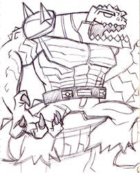 Toxin Blaster Killer Croc by Letdragon