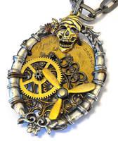 Steampunk Pirate Closeup by JLHilton
