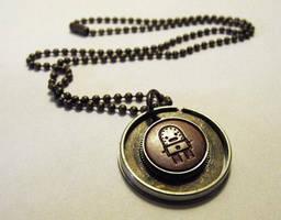 Little bot necklace by JLHilton