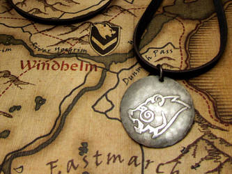 Skyrim Windhelm pendant by JLHilton