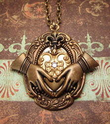 Another Steampunk Claddagh by JLHilton