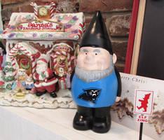 Carolina Panthers gnome by JLHilton