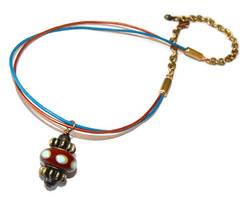 Voltaic Jewel Necklace by JLHilton