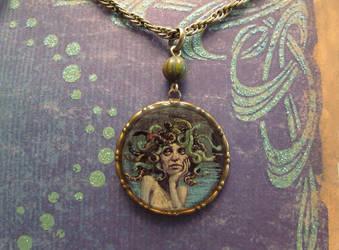 Medusa pendant by JLHilton