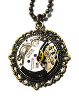 Clockwork Pendant by JLHilton
