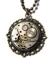 Clockwork Pendant 2 by JLHilton