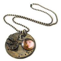 Pensive pendant by JLHilton