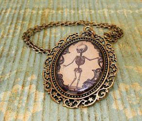 Skelebaby pendant by JLHilton