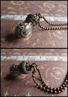 Steampunk reliquary pendant by JLHilton