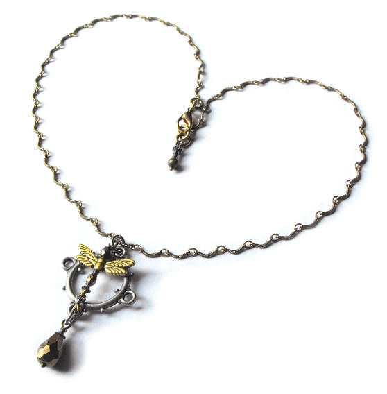 Steamfly necklace whole view by JLHilton