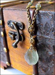 Sorcerer's stone necklace by JLHilton