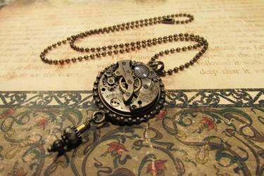 Steampunk pendant by JLHilton