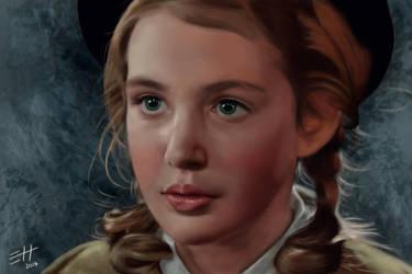 The Book Thief - Liesel Meminger by EdaHerz
